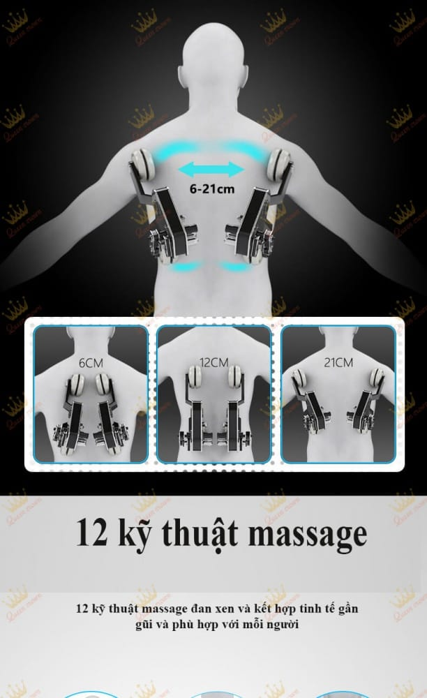 Ghe Massage Queen Crown Qc Sl 5 14