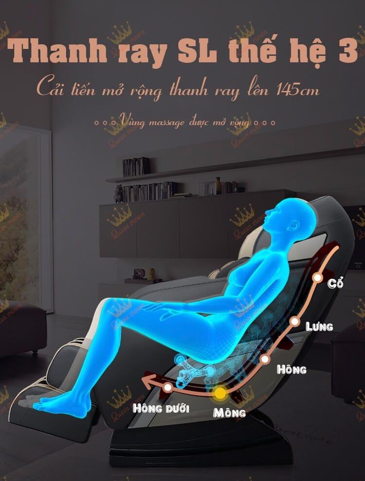 Ghe Massage Queen Crown Qc Cx4 5