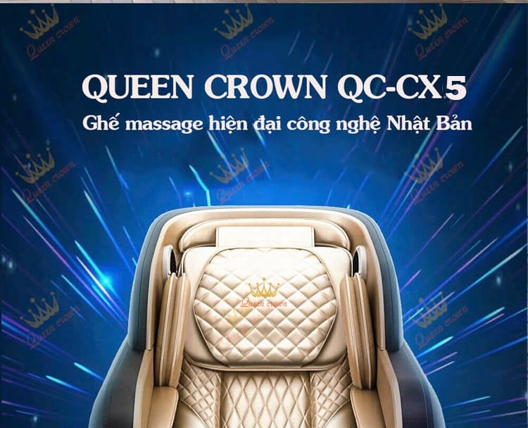 Ghe Massage Queen Crown Qc Cx5 3