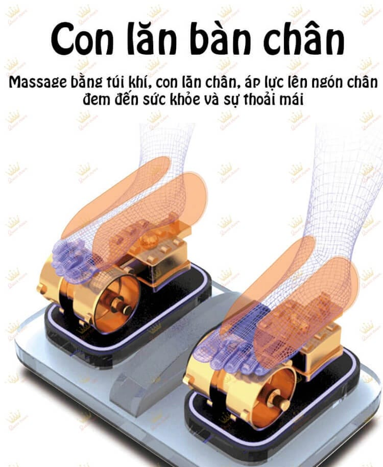 Ghe Massage Queen Crown Qc Cx6 14