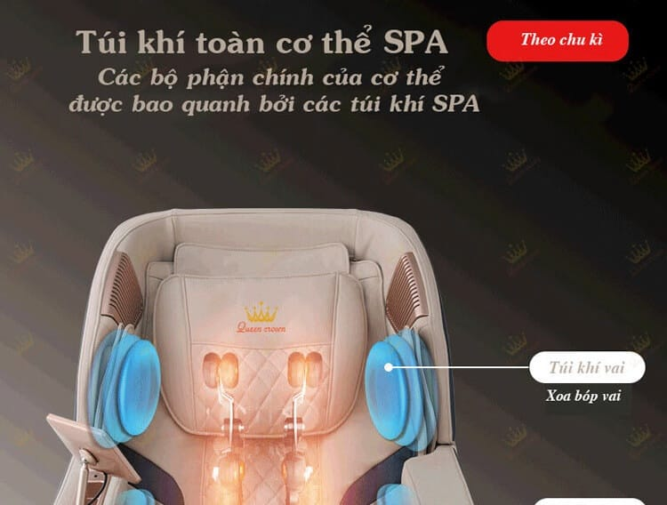 Ghe Massage Queen Crown Qc Cx6 22