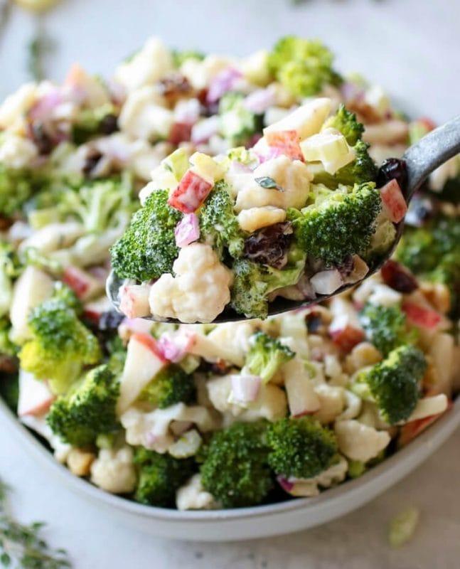 Meo Tri Mat Ngu Salad