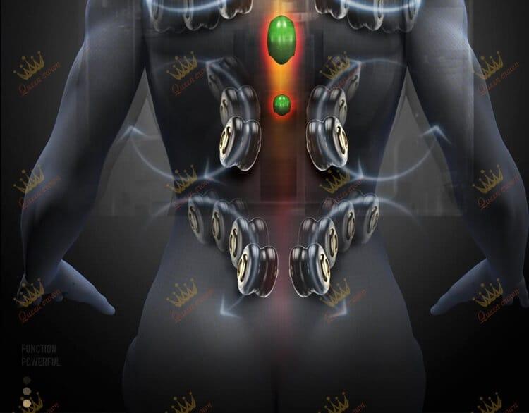 Ghe Massage Queen Crown Qc Cx 7 11