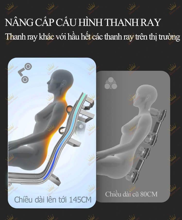 Ghe Massage Queen Crown Qc Cx 7 25