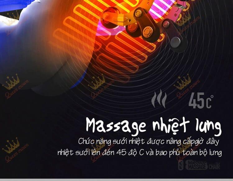 Ghe Massage Queen Crown Qc Lx5 Massage Nhiet Lung 2