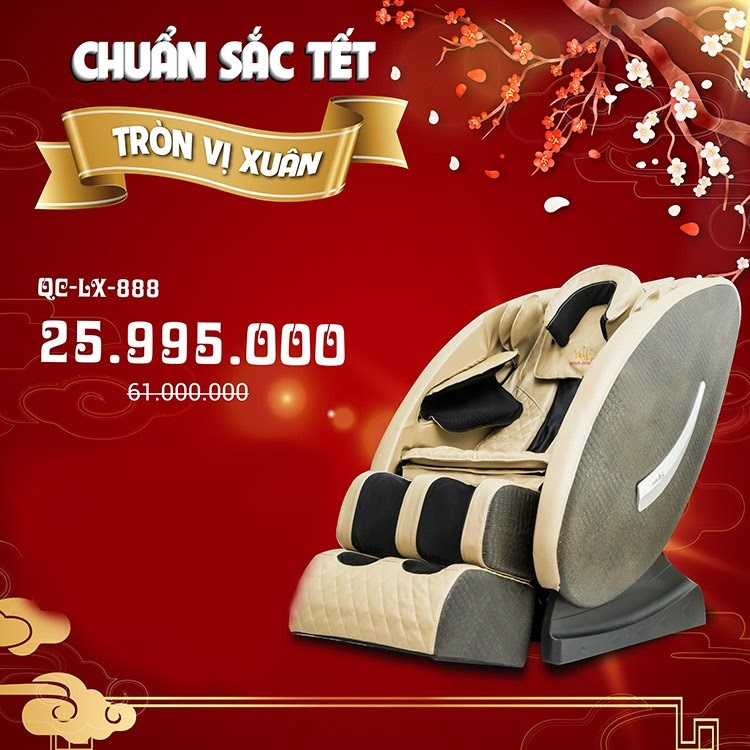 Ghe Massage Queen Crown Qc Lx888 Co Gia Thanh Re