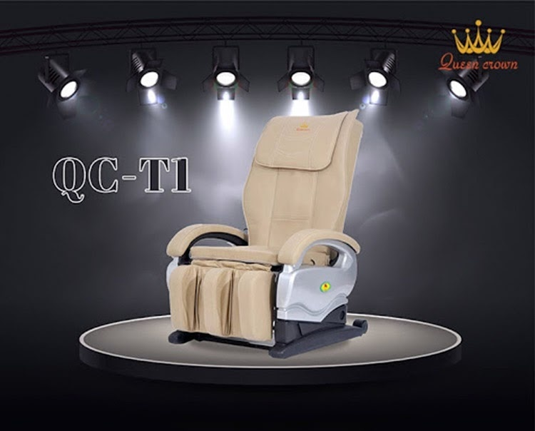 Ghế massage giá rẻ Queen Crown Qc T1