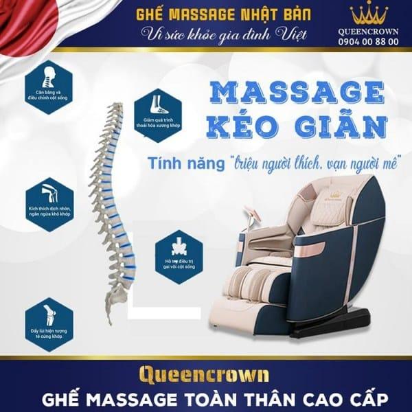 ghế massage trị liệu