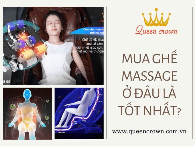 Kinh Nghiệm Mua Ghế Massage Không Phải Ai Cũng Biết