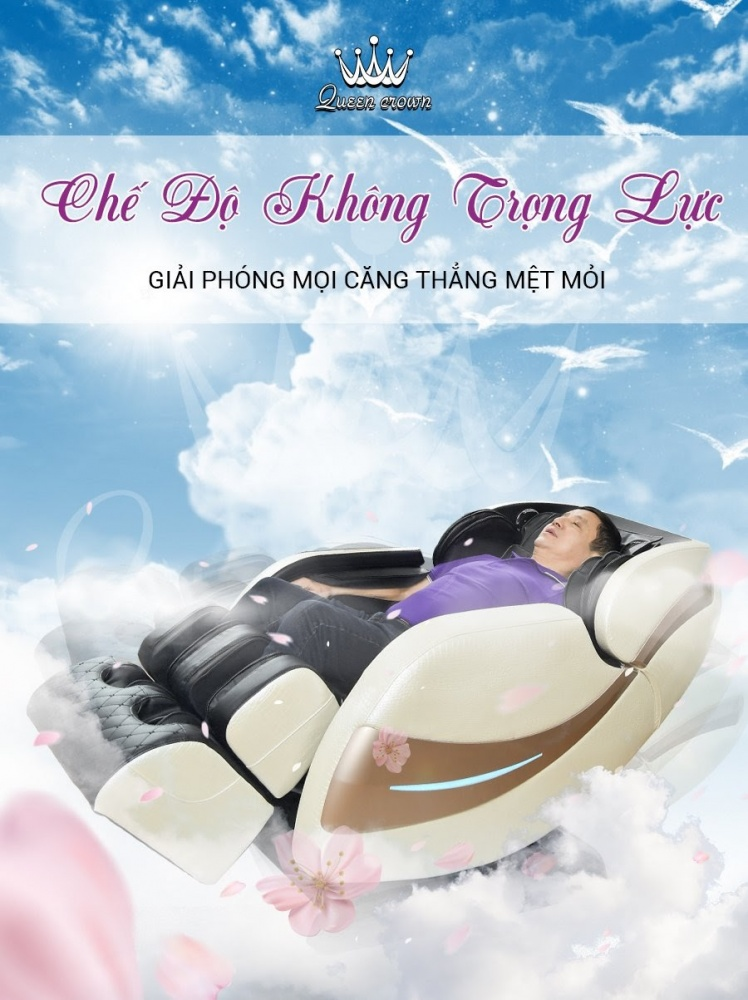 Tinh Nang Massage Khong Trong Luc Ghe Massage Queen Crown Qc Cx7