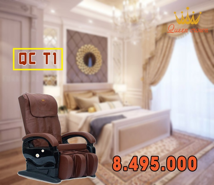 Ghe Massage Gia Re Queen Crown Qc T1