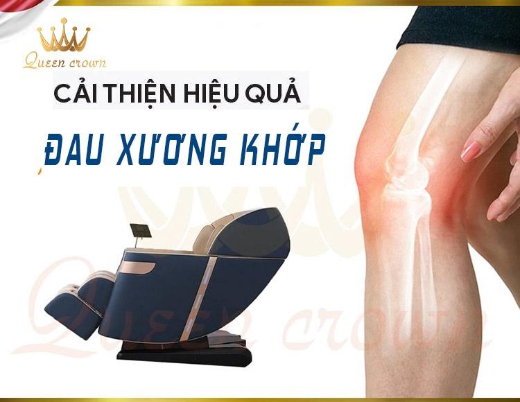 Ghế massage hồng ngoại giúp giảm đau xương khớp hiệu quả