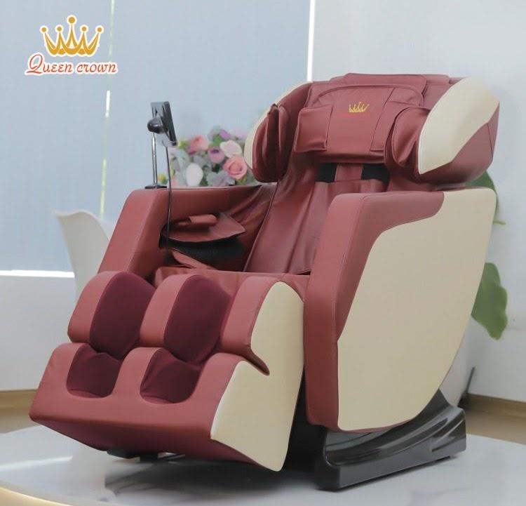 Ghe Massage Queen Crown Qc F5 Pro Trang Bi He Thong Tui Khi Toan Than