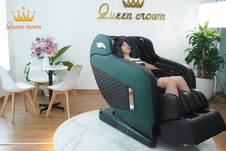 Ghe Massage Toan Than Nhat Ban Queen Crown Qc Cx8