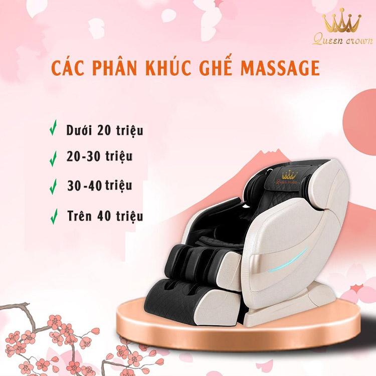 Gia Ghe Massage Bao Nhieu