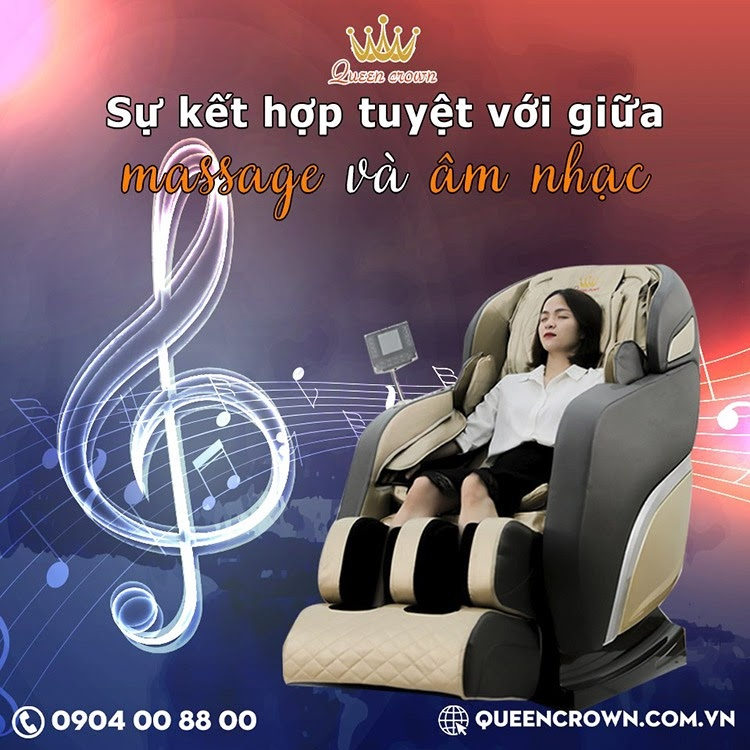 Ghe Massage Gia Dinh Queen Crown Qc Cx10