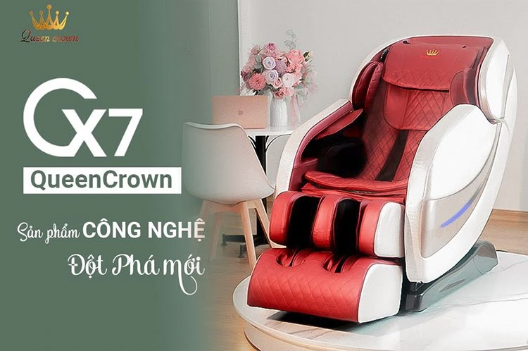 Ghe Massage Gia Dinh Queen Crown Qc Cx7