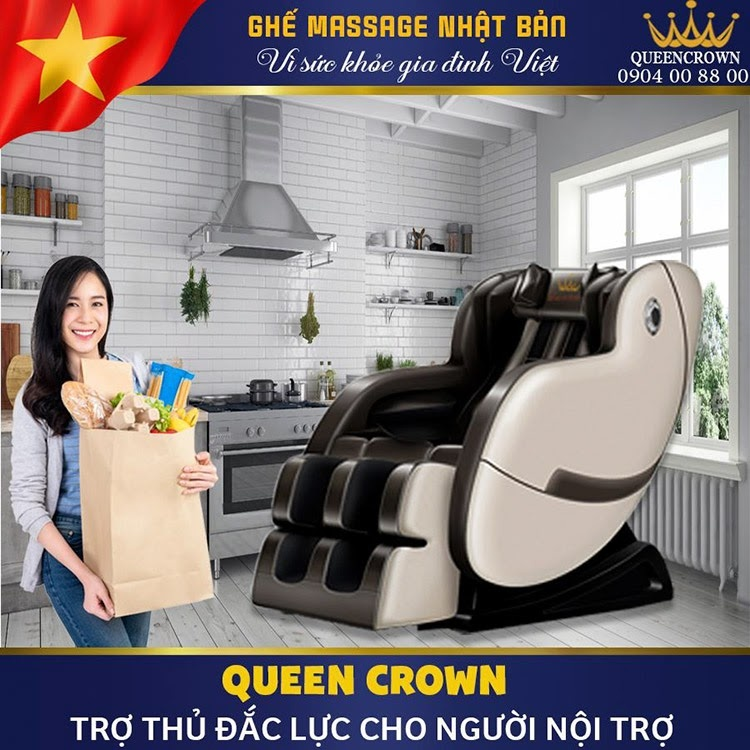 Ghe Massage Lung Queen Crown Qc T1 9