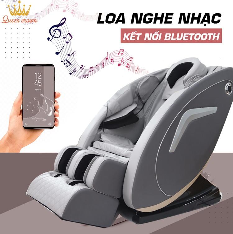 Ghe Massage Queen Crown Qc V5 Co Loa Nghe Nhac