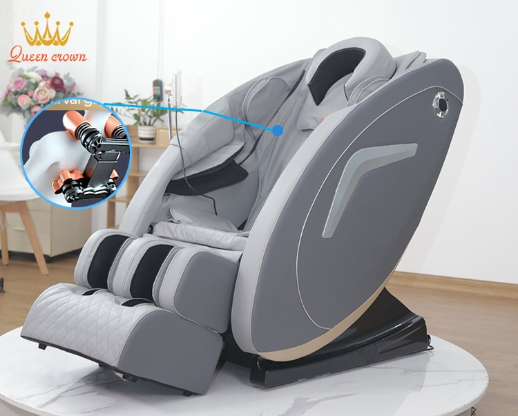 Ghe Massage Queen Crown Qc V5 Ung Dung Con Nghe Massage 3d