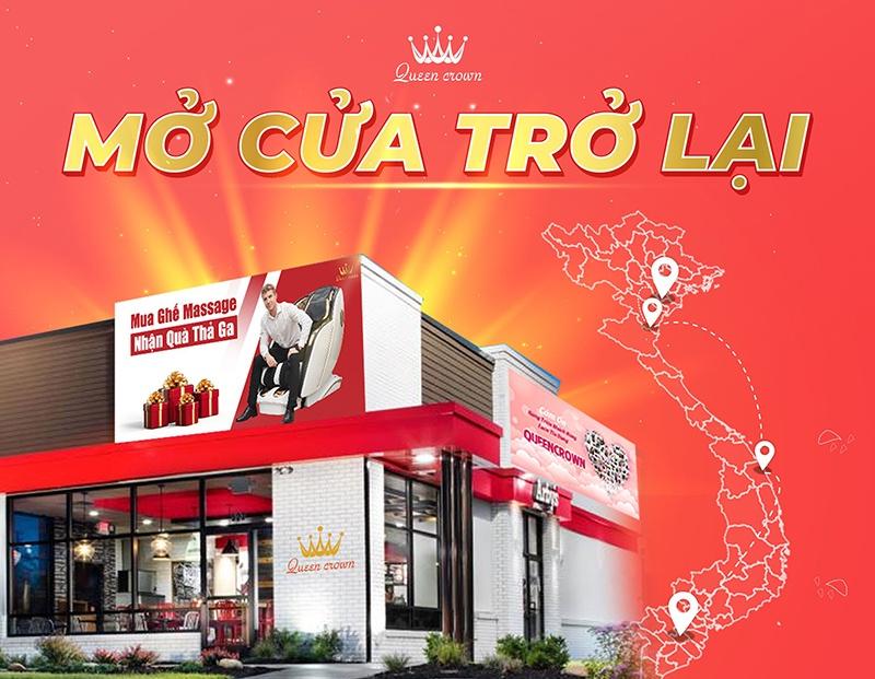 Queen Crown Mo Cua Showroom